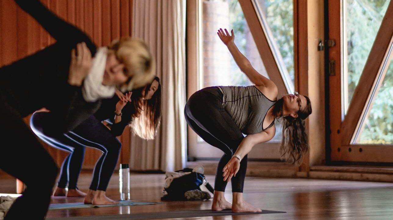 yoga lesson