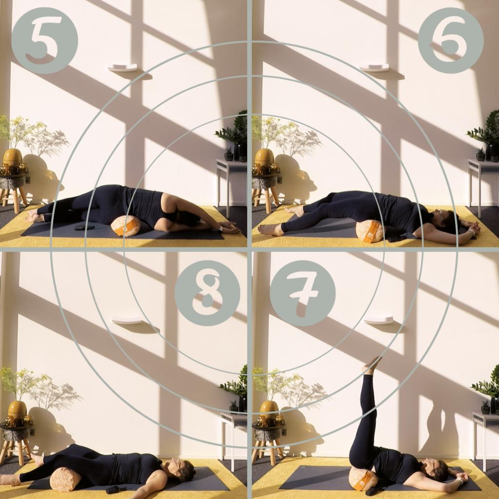 4 bolster yoga poses