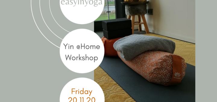 yin yoga @home